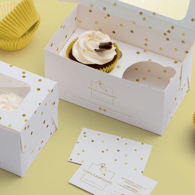 Charalambidis Zaxaroplasteio Branding Packaging