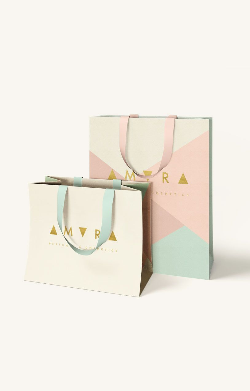 Branding and packaging for cosmetic store