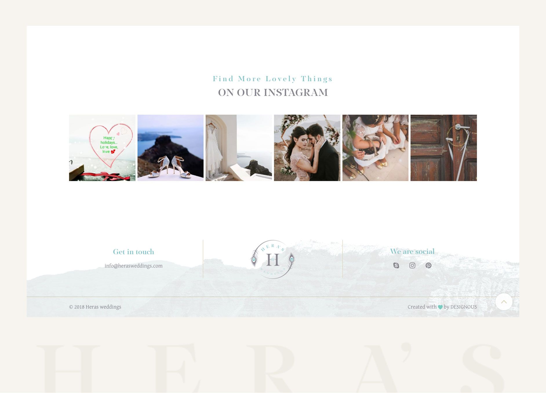 Website Gia Wedding Planner Santorini