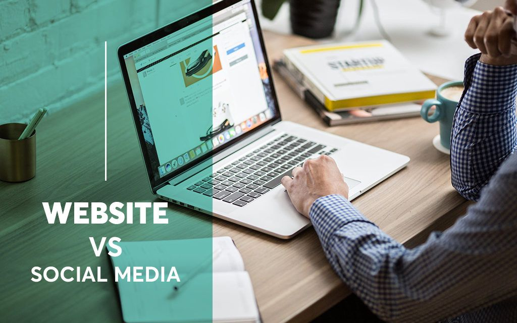 Website vs Social Media