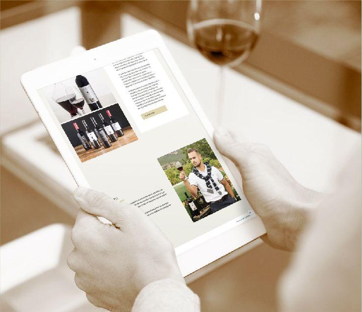 Georgioslafazanis Winery Website Designous Creative Agency 4