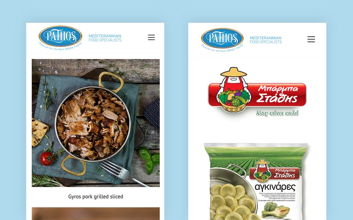 Website For Food Supplier Company In England (2)