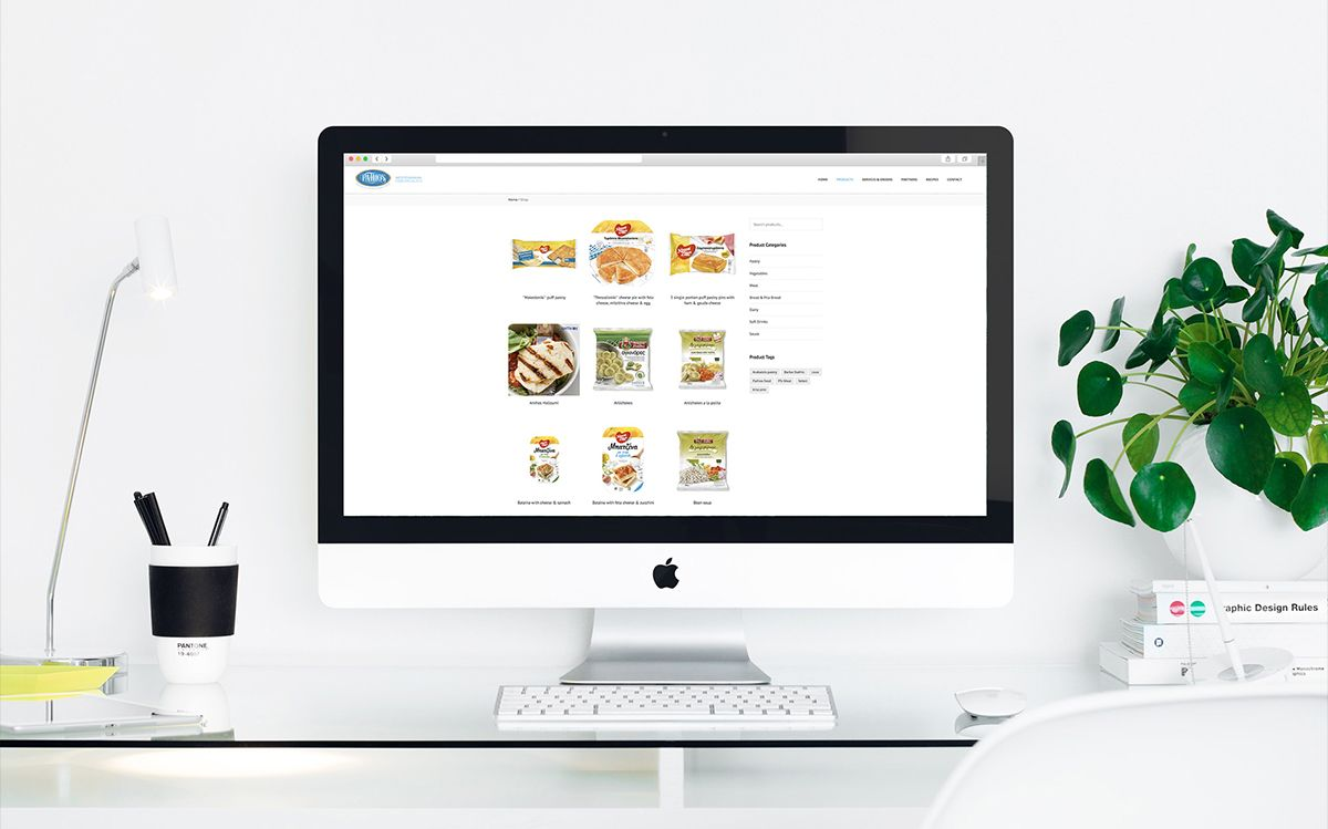 Website For Food Supplier Company In England (3)