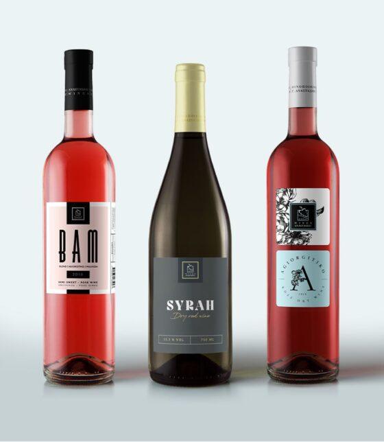 Σχεδιασμός ετικέτα κρασιού