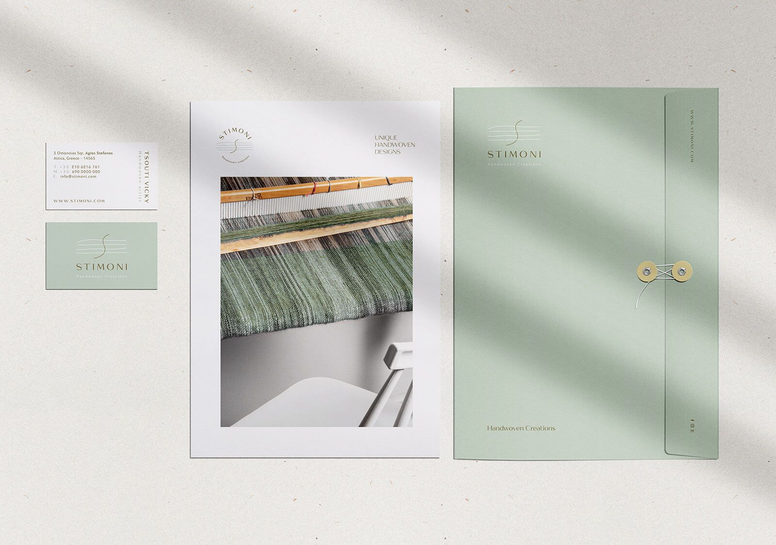 Stimoni Branding Folder Envelope Cards