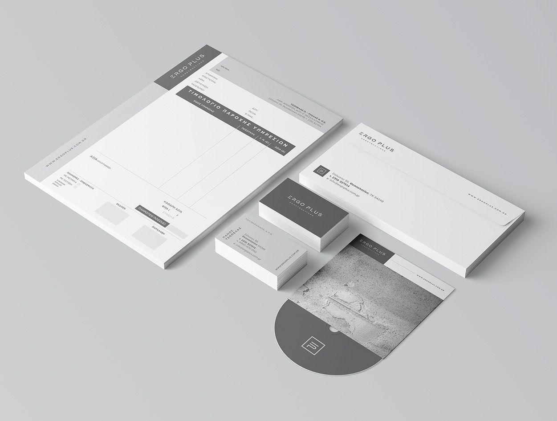 Ergoplus Branding Stationary 2