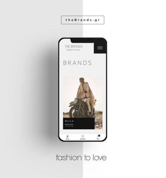 Clothing e-shop design