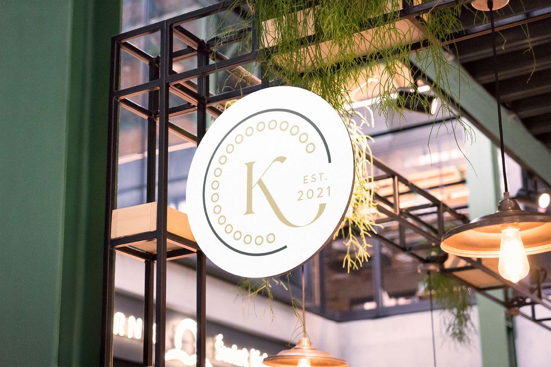 λογότυπο για καφετέρια